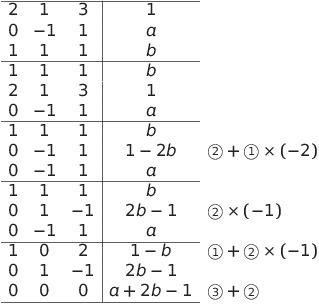 代数 入門 解答 線形